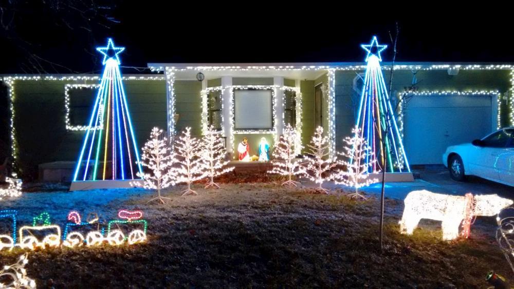 Christmas Lights on Brummett