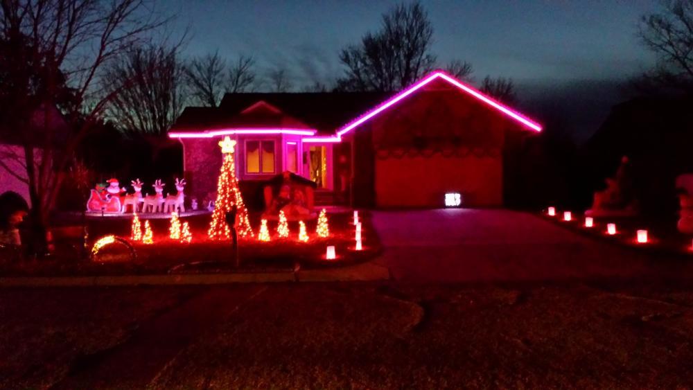 Christmas Lights on David