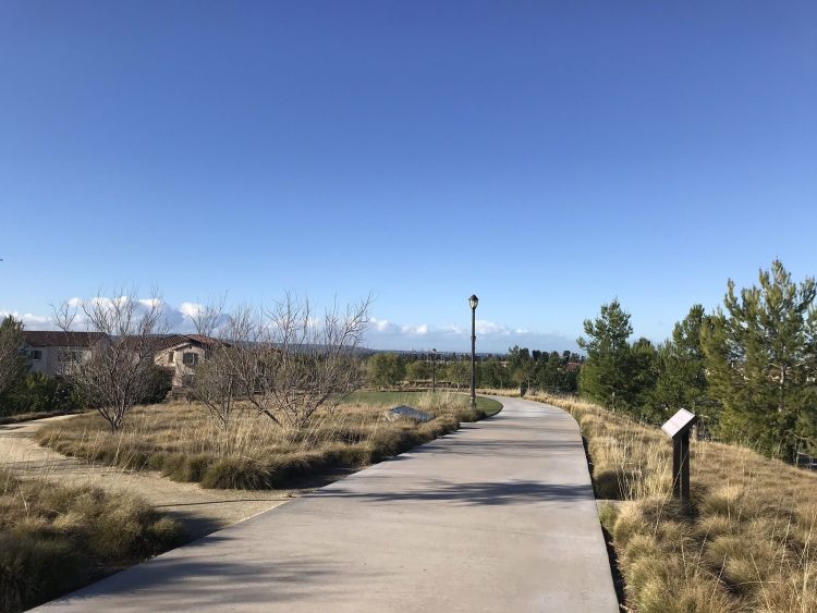 Urban trails provide miles of pathways within easy access to home and shopping.