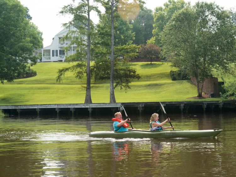 4x3 Riverfront Kayaking