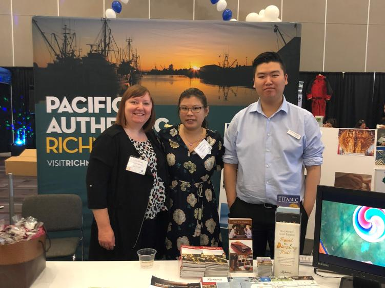 Tourism Richmond at the 2018 Tourism Vancouver Showcase Trade Show
