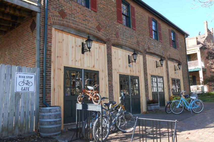 Bike Stop Cafe Exterior 1