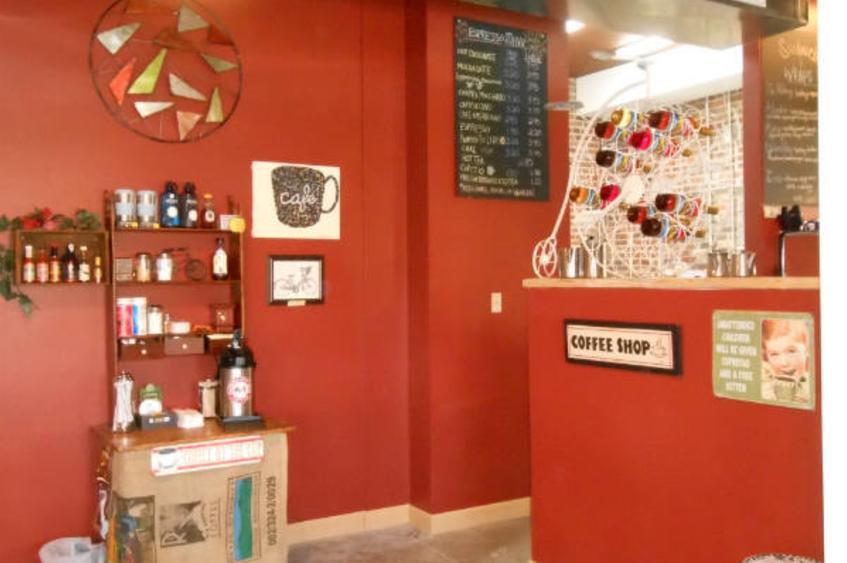 Bike Stop Cafe Interior 1