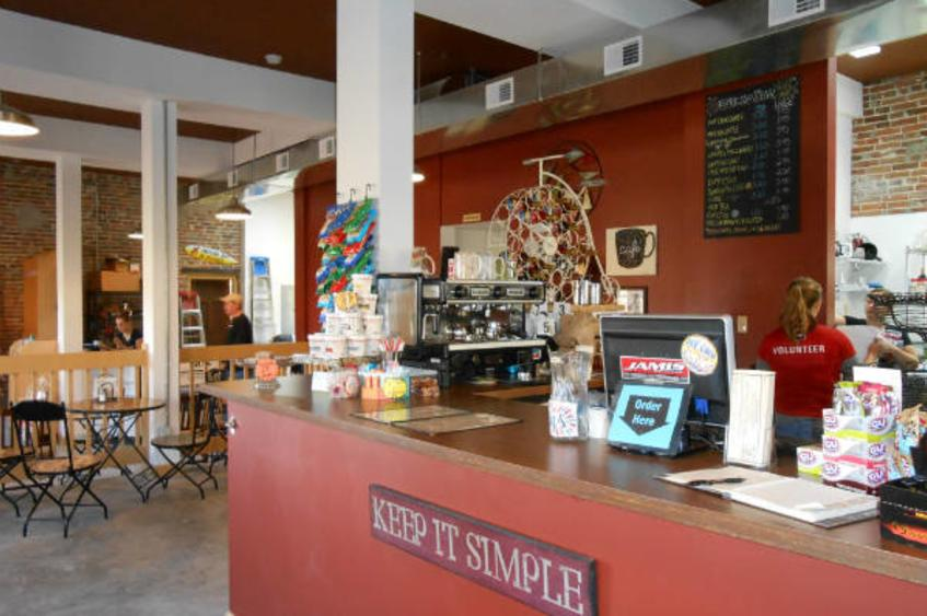 Bike Stop Cafe Interior 2