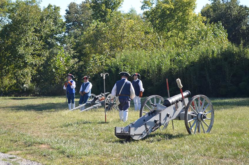 Pioneer Days - Cannons