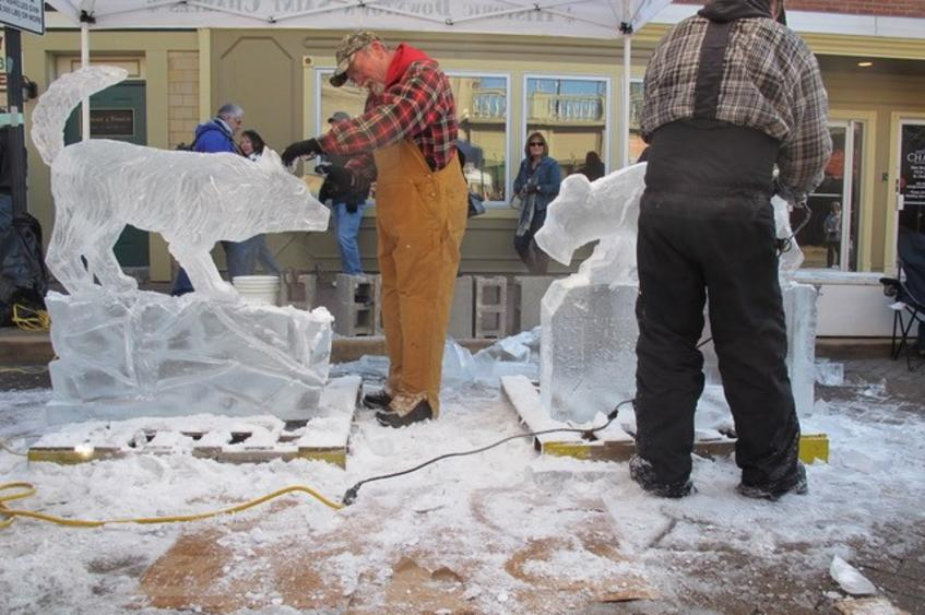 Fete de Glace     Ice Carving Competition | Saint Charles