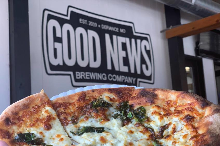 Good News Brewing Pizza