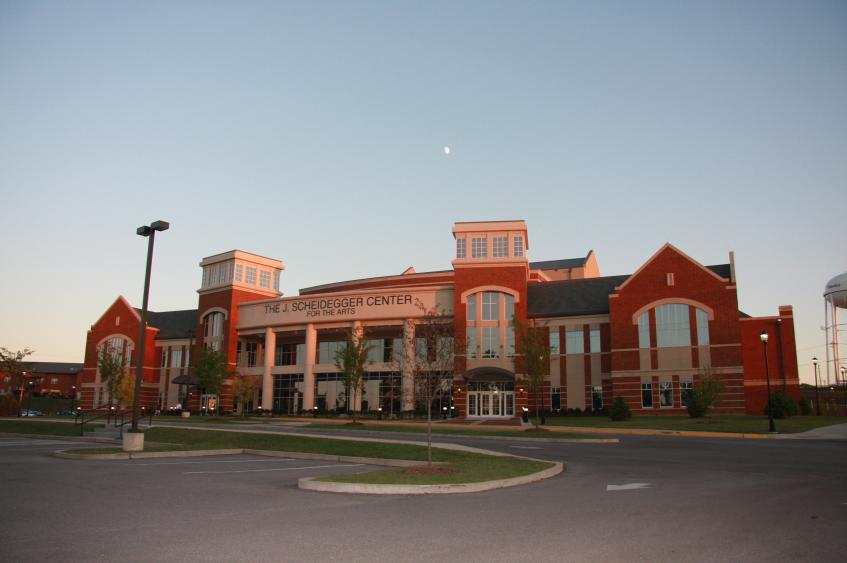 Lindenwood's J. Scheidegger Center for the Arts
