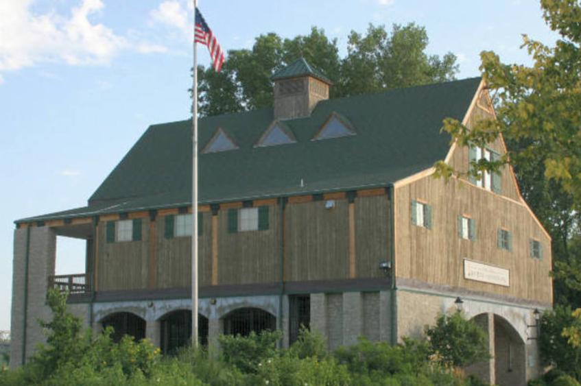 Lewis & Clark Boat House Exterior