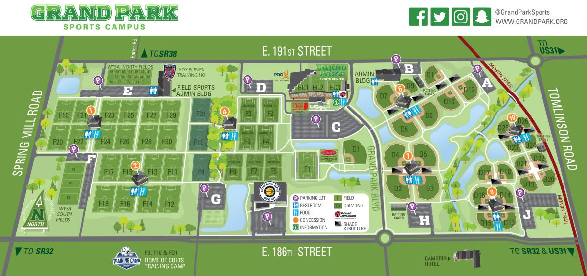 Grand Park Updated Map - Nov. 2018