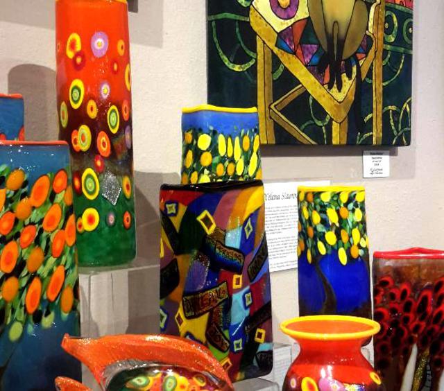 Mad Art Glass Fish & Vases