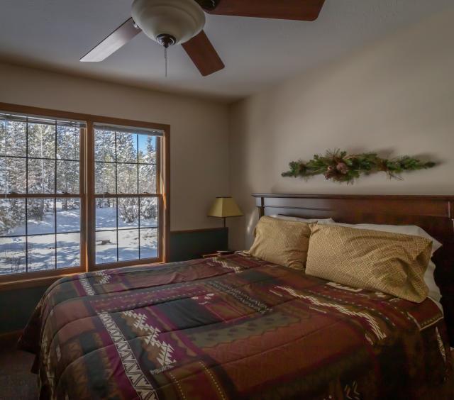 Bedroom in Winter