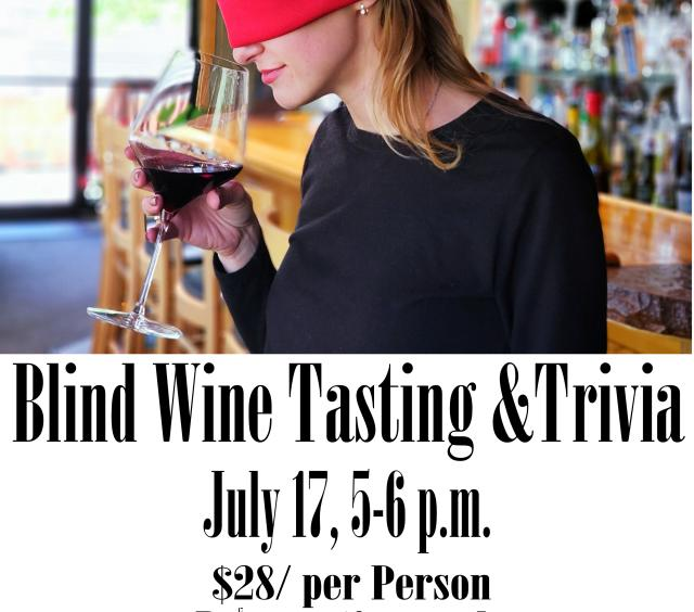 Blind Wine Tasting and Trivia