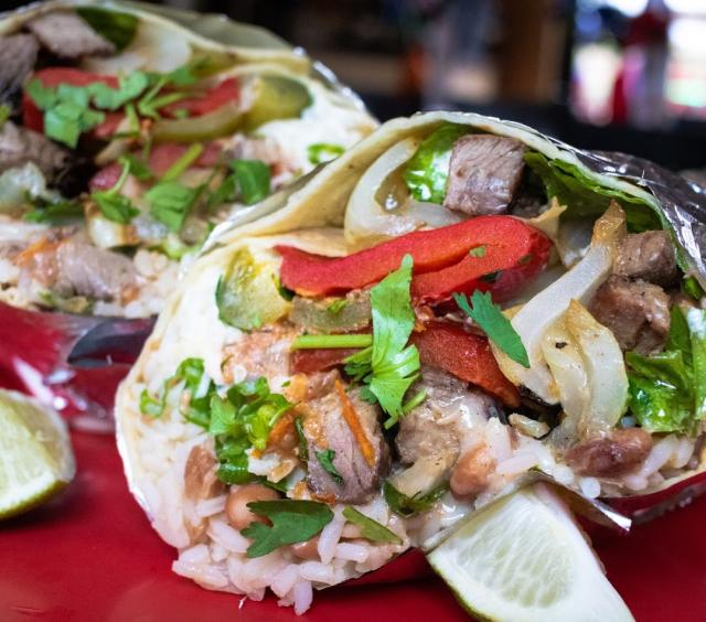 Burrito Close-Up