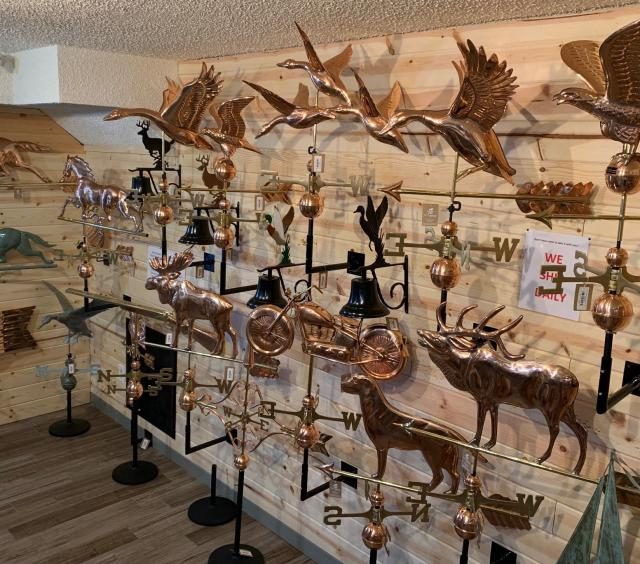 Elk Weathervanes