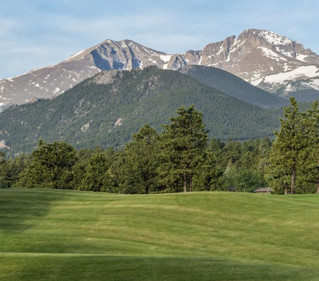 Estes Park 18-Hole Golf Course Morning 1
