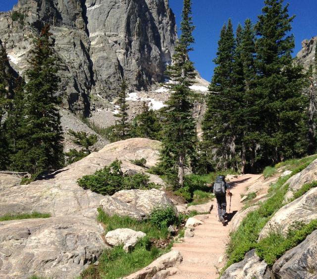 Hike Rocky Mountain National Park