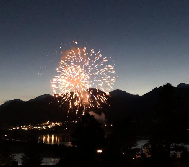 Annual 4th of July Fireworks Show from Estes Lake Lodge