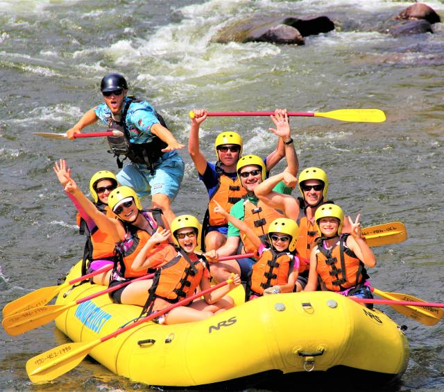 Surfing on the Poudre River!