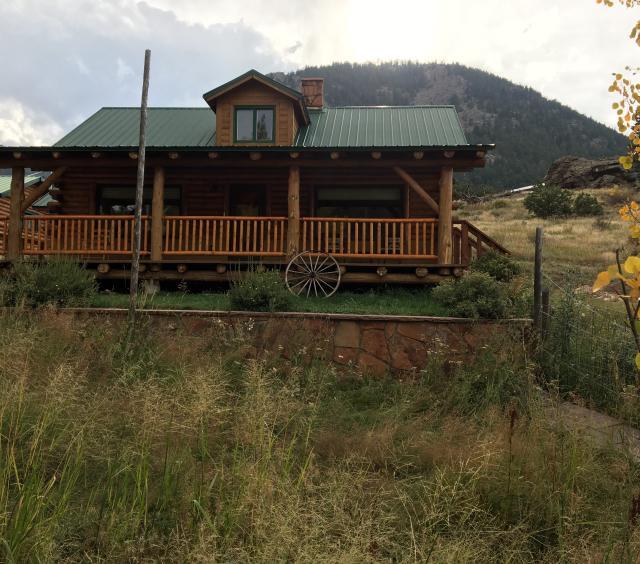 A true log cabin