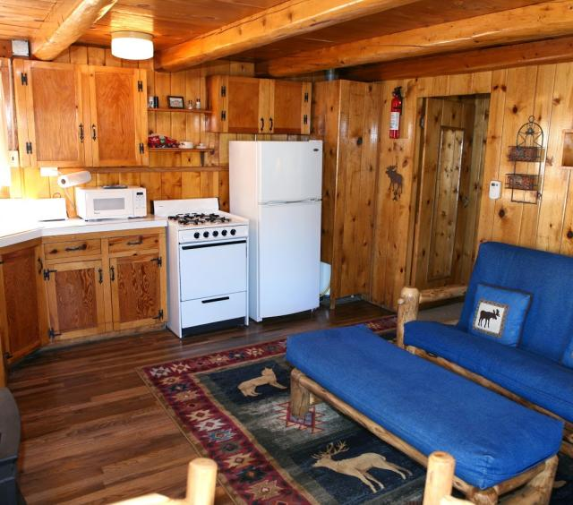 Living Space at Lazy R Cottages