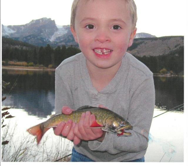 Estes Angler - Luke fish