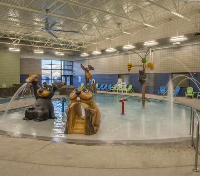 Leisure Pool Water Features