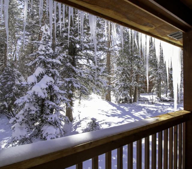 Porch in Winter Wonderland