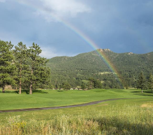 Rainbow Over Estes Park 18-Hole Golf Course