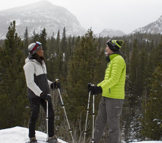 Snowshoe Duo