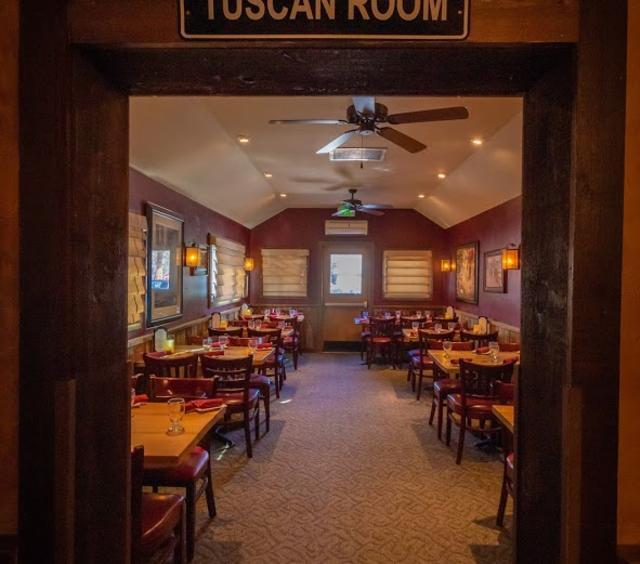 Tuscan Room Door