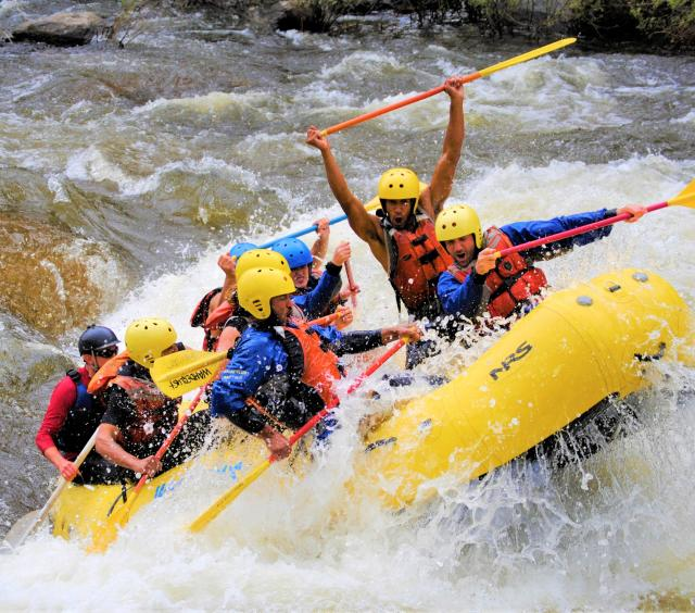 Blast of Whitewater Trip
