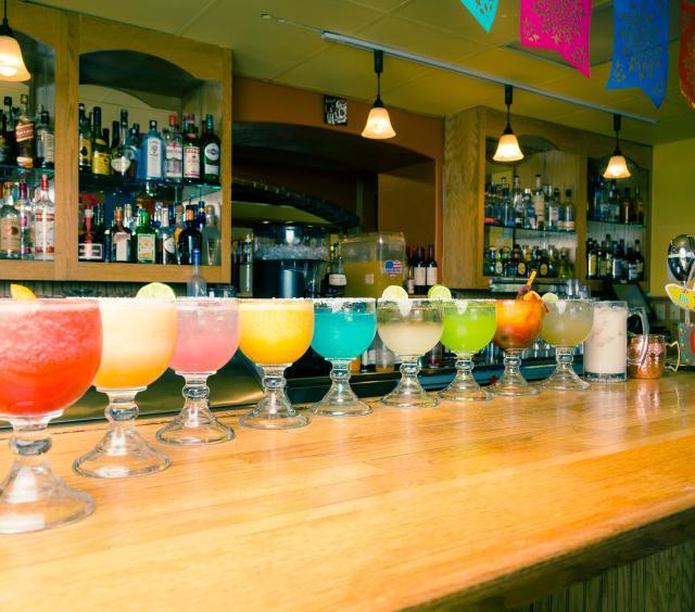 Variety of Margaritas
