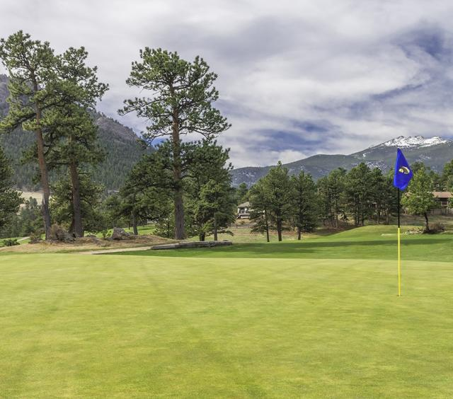 18 Hole at the Estes Park 18-Hole Golf Course