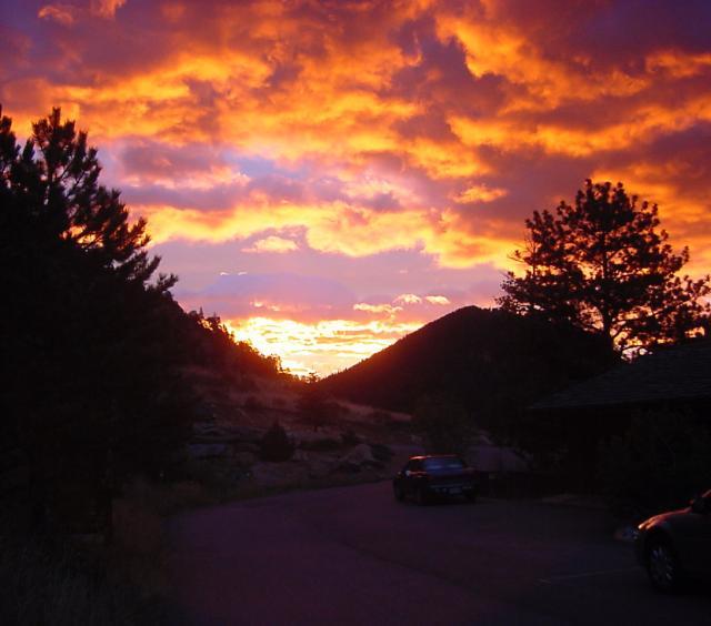 Sunrise at Wildwood Inn