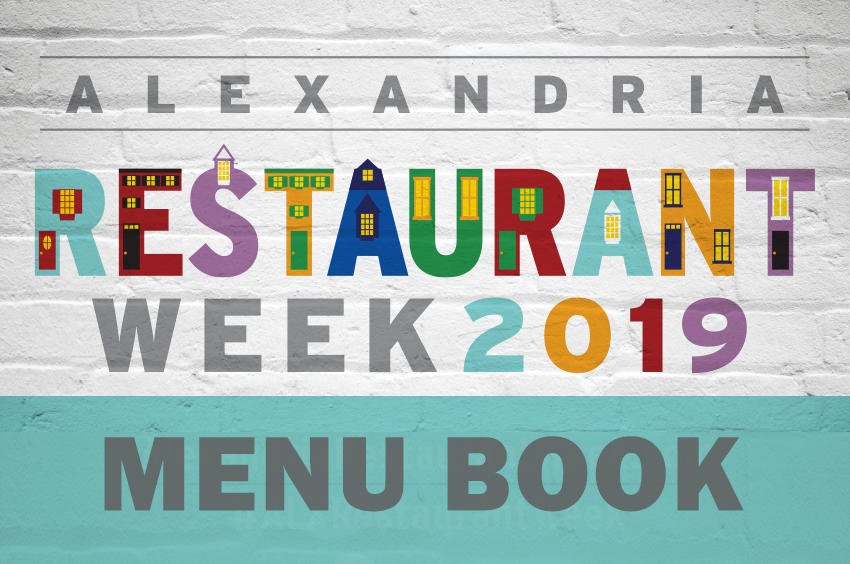 Alexandria Winter Restaurtant Week Menu Book