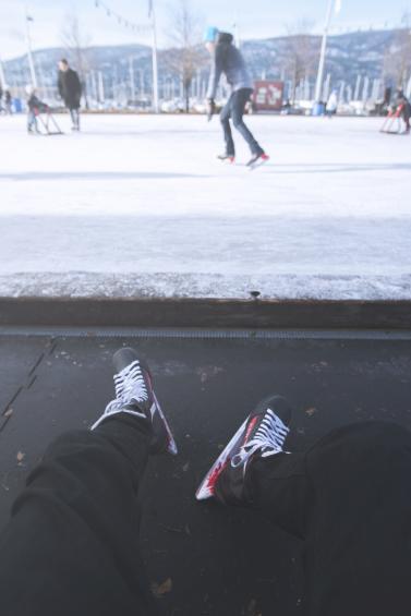 Stuart Park Skating