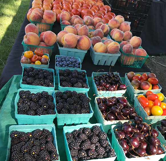 Cedar Lake Farmers Market fruit
