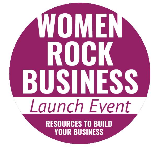 Women Rock Business Launch Event Logo