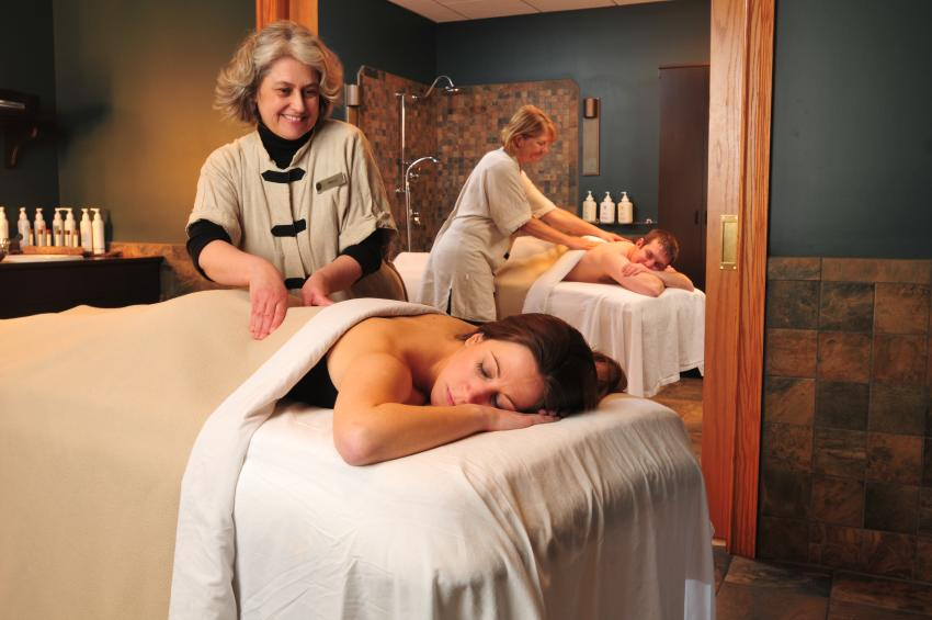 Relax and enjoy a couples massage at Isabella Spa, Belhurst