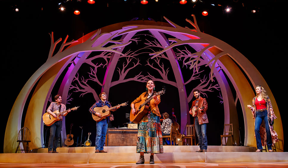 Almost Heaven – John Denver's America cast at Theatre at the Center