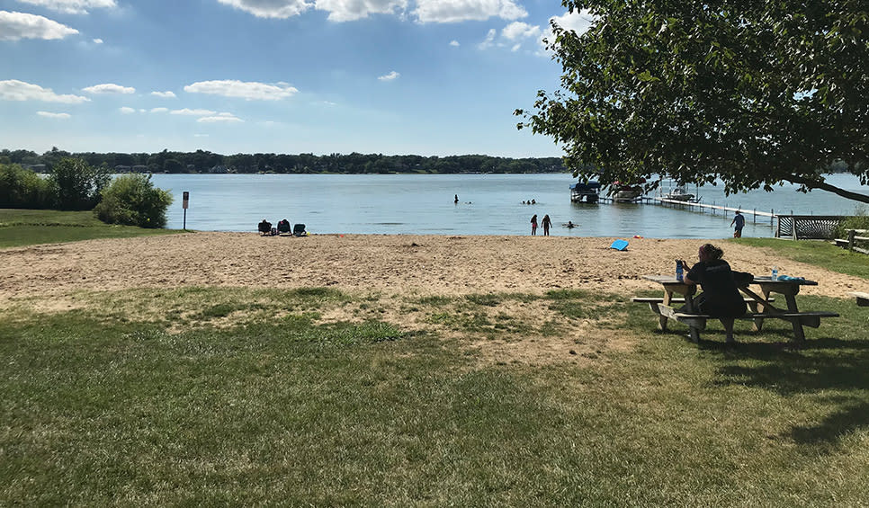 Cedar Lake small beach