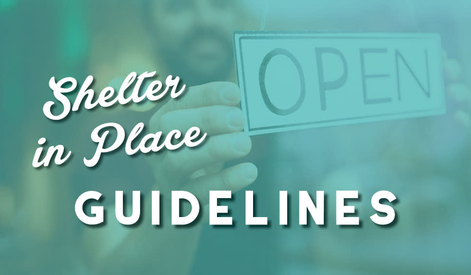 Shelter in Place Guidelines