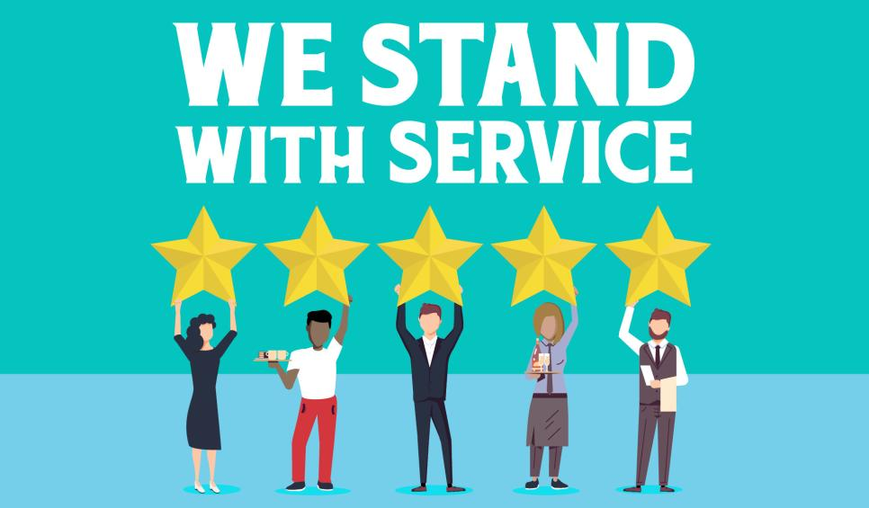 We Stand with Service