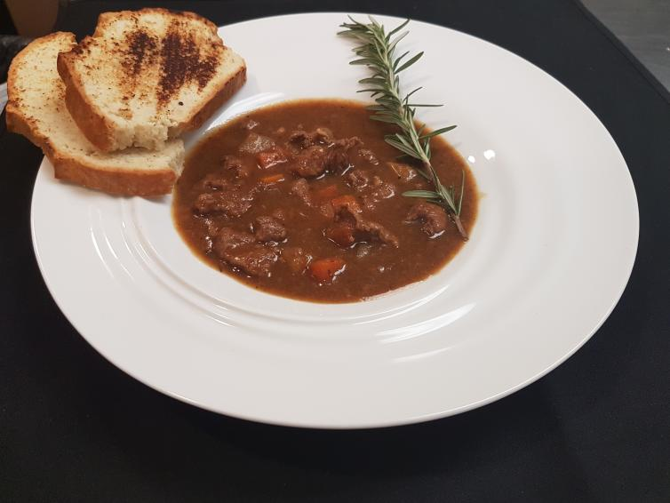 Lamb Stew with Soda Bread