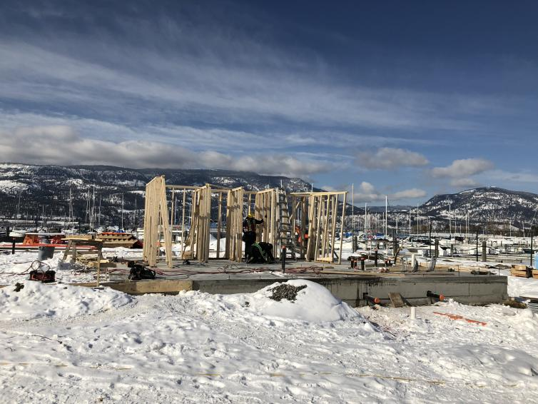 photo of construction on Feb 22, 2018