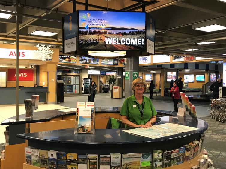 Airport Information Kiosk