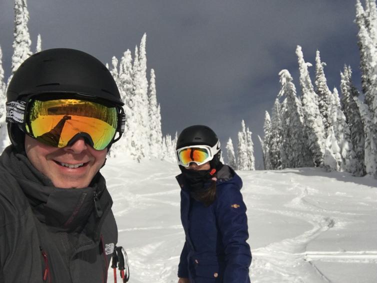 Wesla & Duane at Big White