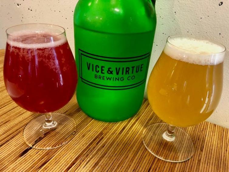 Vice & Virtue Brewing Beers