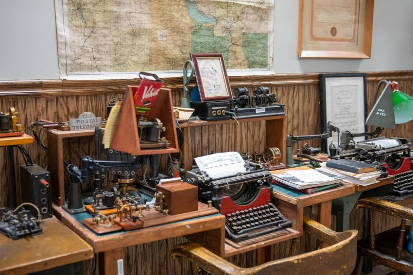 Antique Wireless Museum Telegraph Station